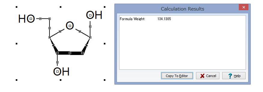 デオキシリボース分子量
