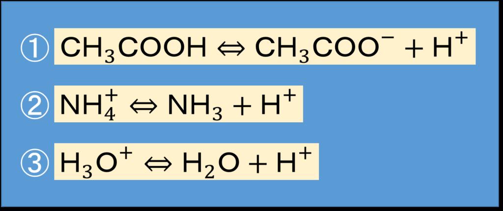 ブレンステッド酸塩基