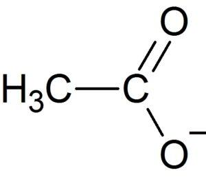 酢酸イオン