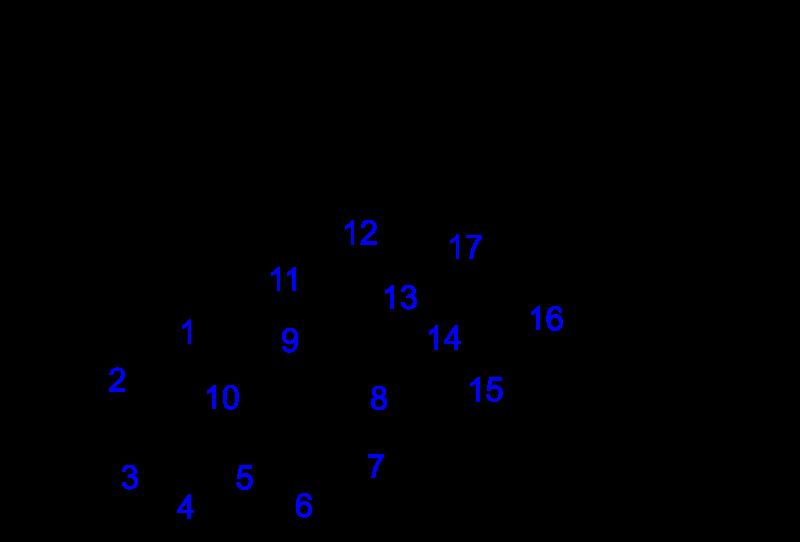 コレステロール化学構造式